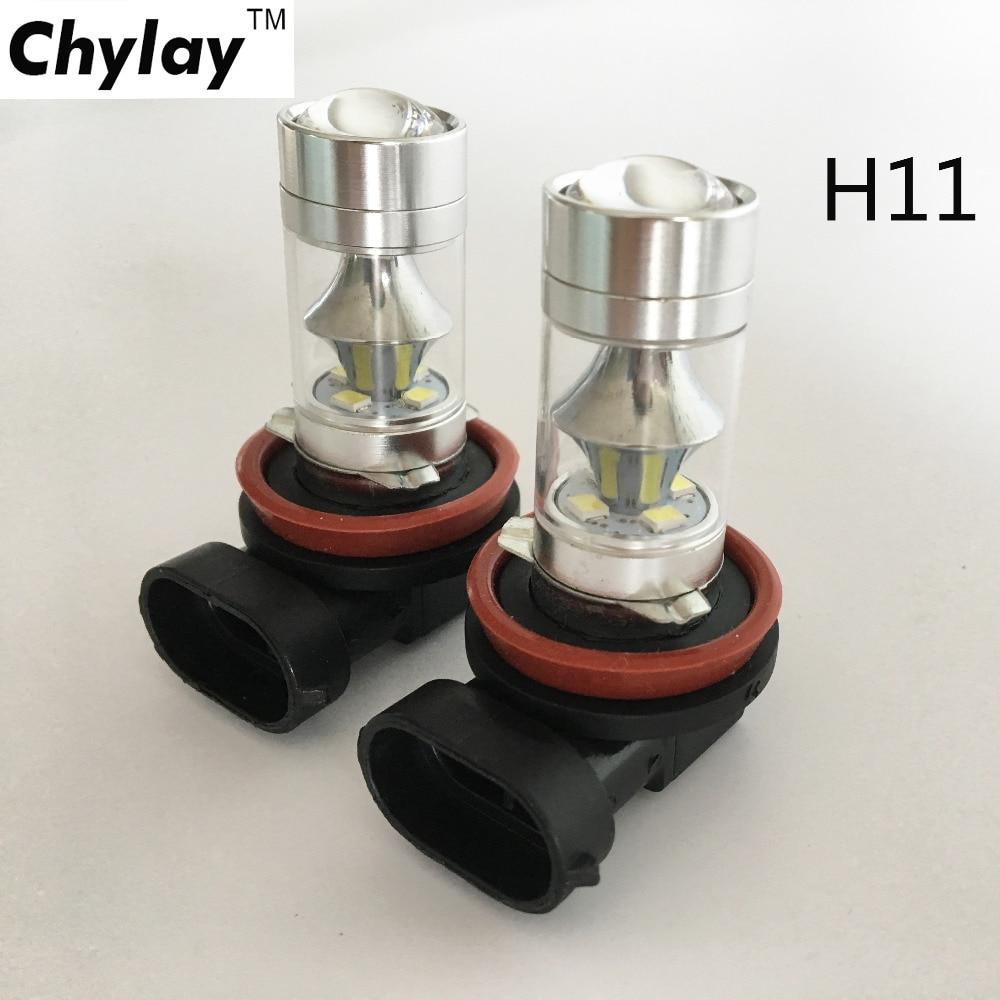 ένα ζεύγος 750LM 60W H8 H9 H11 LED Φώτα - Φώτα αυτοκινήτων - Φωτογραφία 1