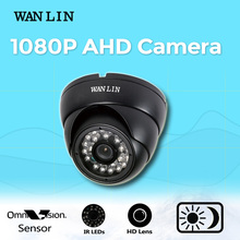 WANLIN AHD 1080 P 2.0MP 2.0MP Cámara de Vigilancia Mini A Prueba de Vandalismo de Interior 3.6mm Lente de Seguridad Cámara