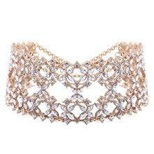 2016 Collar New Fashion Gypsy Statement Necklace Female Ethnic Vintage Flower Bohemian Maxi Choker Necklace Women Chunky Jewelry
