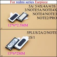цена на YuXi New earpiece Ear speaker for Xiaomi Redmi Note 2 /Redmi Note 3 /Redmi Note 4 4A 4X 5 5A 5 5 Plus  2A 1S  3S Cellphone Parts