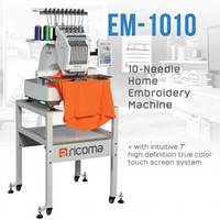 Updated style domestic industrial computerized electric flat squin cap clothes multi functional embroidery machine 7 LCD screen