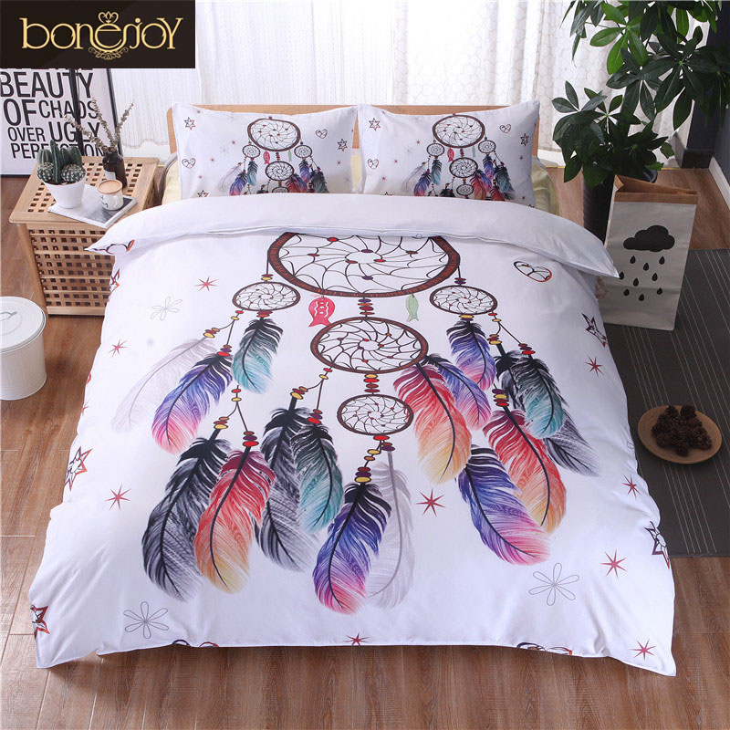 buy bonenjoy white bedding set king size. Black Bedroom Furniture Sets. Home Design Ideas