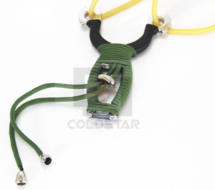High quality Portable Slingshot Hunting Powerful Catapult Tactical Outdoor Marble Games Hunting Sling Shot Wholesale