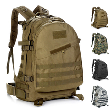 High Quality Men Travel Bag Sport Camo waterproof Tactical Rucksack Camping Hiking Trekking 40L Outdoor Large capacity Backpack