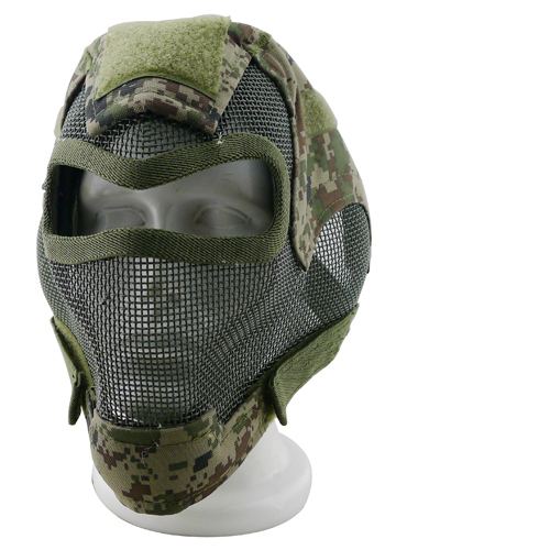 Army Airsoft Paintball BB Gun Full Face Game Protect Mask For CS Hunting ...