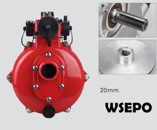 OEM Quality! 2inch High Pressure Firefighting Pump Assy Fits For 20mm Straight Keyed Shaft Gasoline Or Diesel Engine