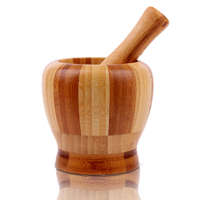 Natural Bamboo Roasted Garlic Device Smashed The Kitchen Cooking Is A Good Helper Sticks And Utensils