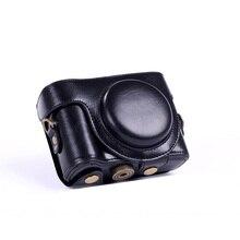 High quality PU Leather Case for Sony Cyber-Shot DSC-HX50V HX50 Camera