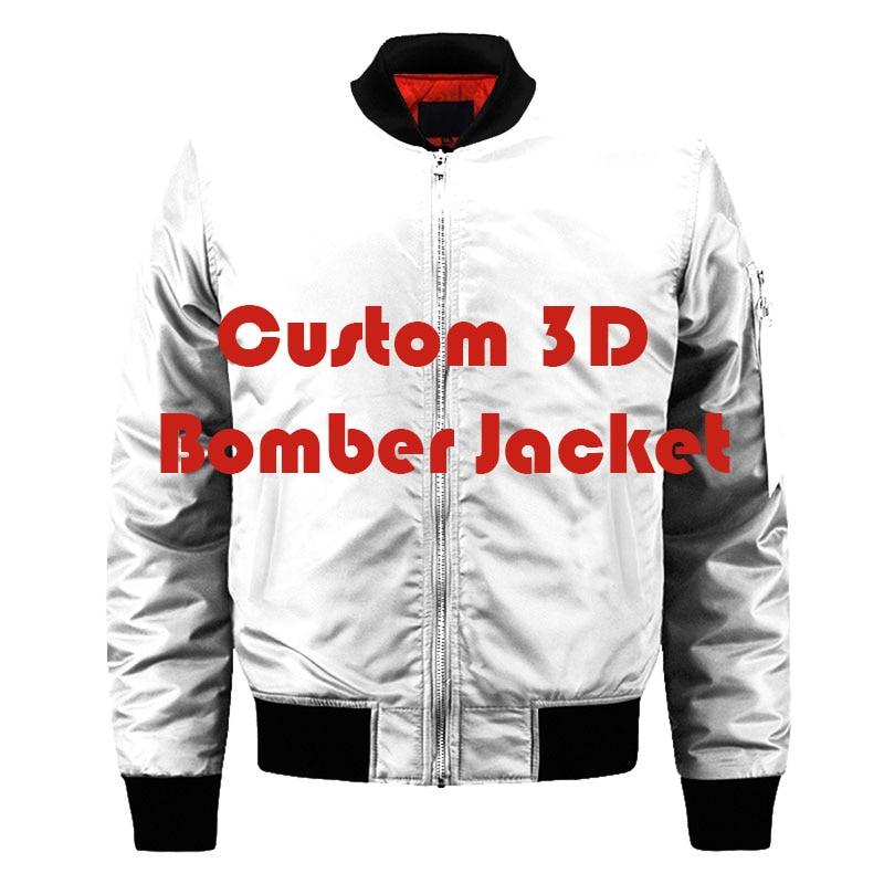 US EU taille personnalisée personnaliser Logo conception imprimer hiver militaire Bomber vestes hommes armée tactique veste et manteaux surdimensionné