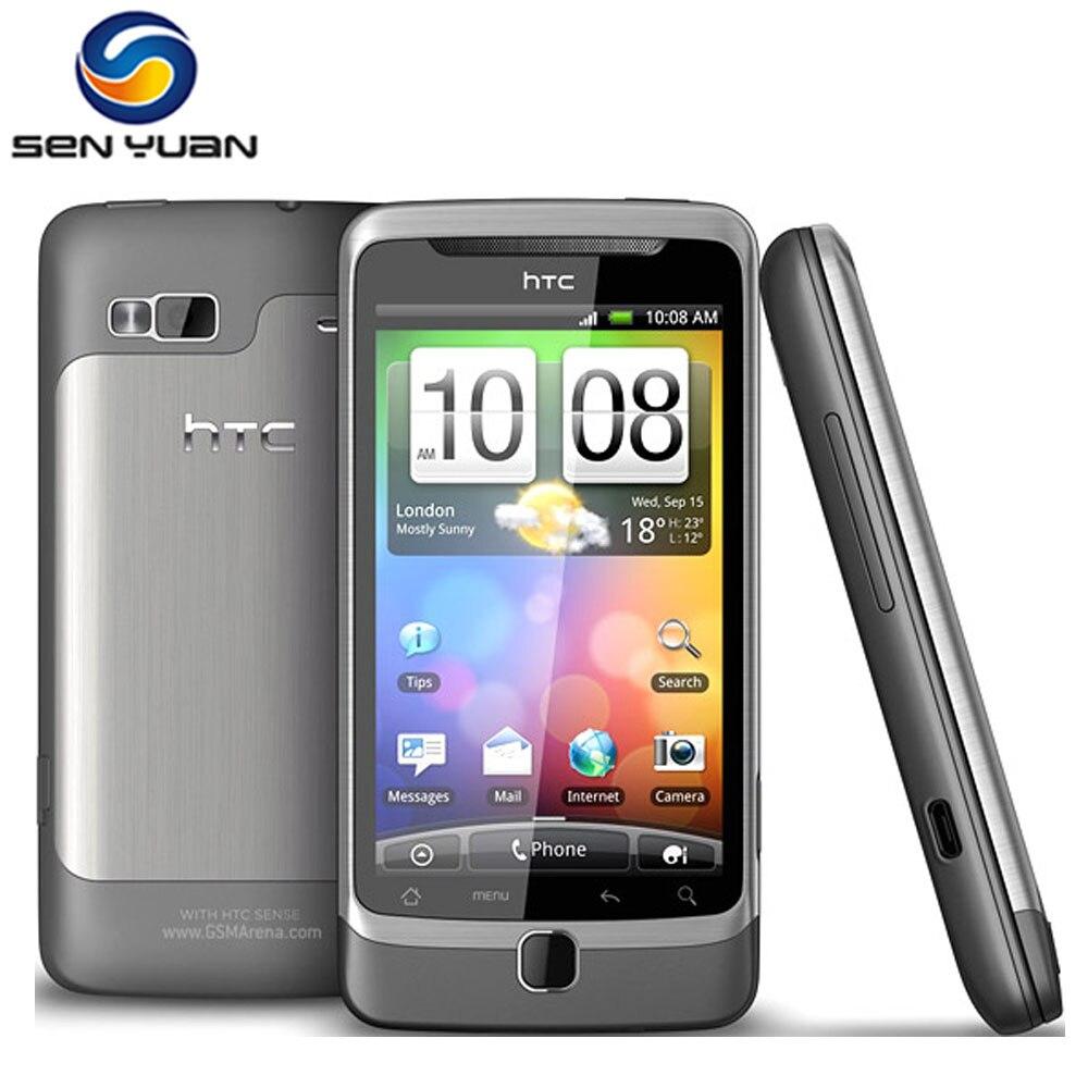 Цена за Оригинальный разблокирована htc desire z a7272 сотовый телефон мобильный телефон 3 г 5mp gps wifi android qwerty слайд smartphone