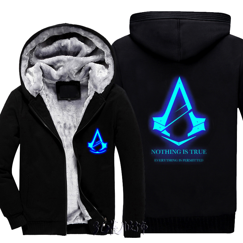 6314025344e9 2017 Autumn Winter Assasins Creed Hoodie Men Cosplay Sweatshirt Costume Assassins  Creed Mens Hoodies Jackets Casual Sweatshirt-in Hoodies   Sweatshirts from  ...