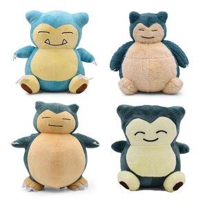 29-31cm 11.4-12.2 ''detektyw Snorlax pluszowe zabawki Anime wypchane pluszowe zabawki duże Snorlax poduszka zabawki miękkie Christmas Gift