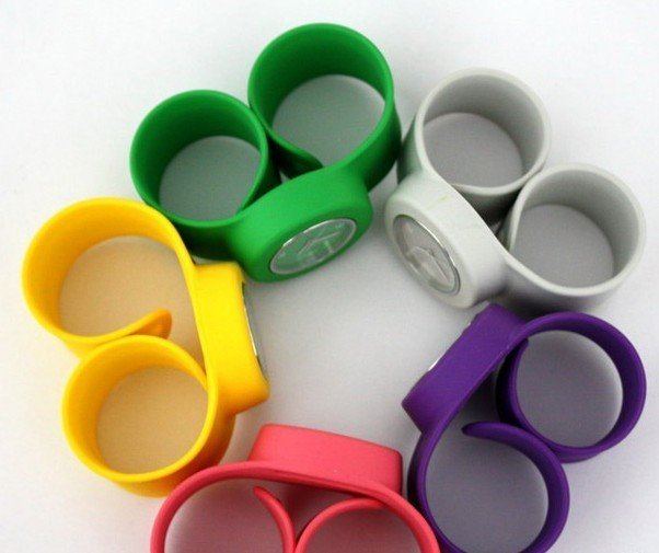 silicone slap watch , silicone watch , free shipping 100pcs
