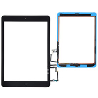 Original Free Shipping Black /White Touch Screen Digitizer Home Button Adhesive Assembly with Tools Replacement for iPad Air 5th