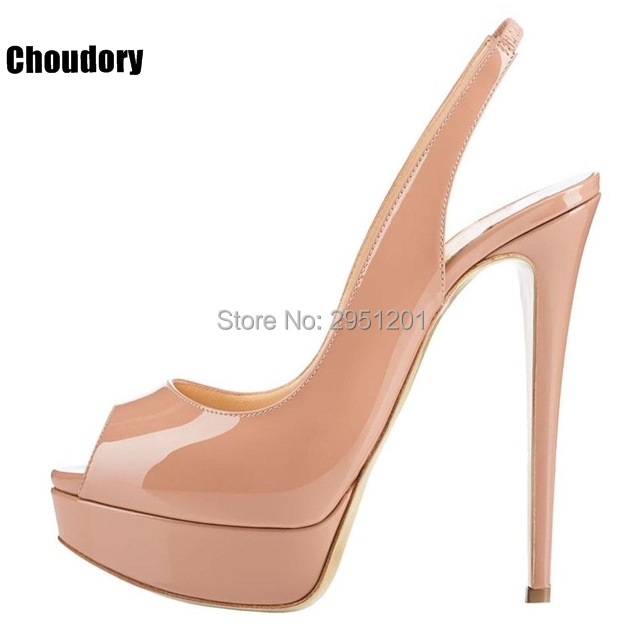 Women's High Heels Peep Toe Slingback Sandals Sexy Leopard Print Pumps Shoes Platform Thin High Heels Ladies Wedding Party Pumps 2017 wedding sandals high heels pumps summer t stage sexy wedding shoes for party sandals peep toe buckle trap