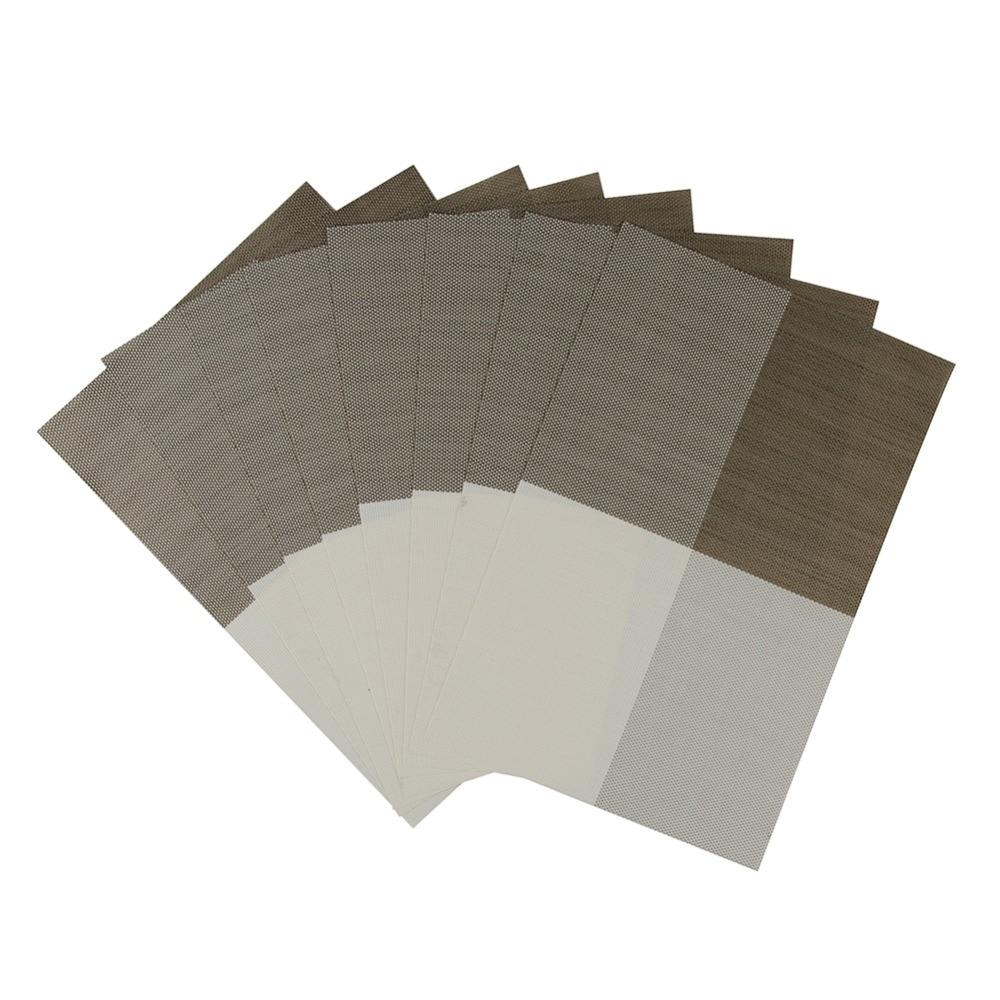 Σετ από 8 πλακίδια χρώματος μπλοκ PVC - Κουζίνα, τραπεζαρία και μπαρ - Φωτογραφία 1
