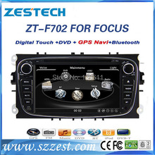 ZESTECH High performance dual-core HD digital touch screen car dvd for FORD FOCUS 2009-2011 car dvd with radio,RDS,3G