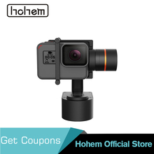 Hohem XG1 Wearable Gimbal 3-Axis Stabilizer Bluetooth Control for DJI Osmo Action Gopro Hero 7/6/5& SJCAM& Yi 4K Action Camera 2019 funsnap caputure 2 three axis phone handle gimbal stabilizer for andriod ios smartphones gopro 5 6 7 action cameras