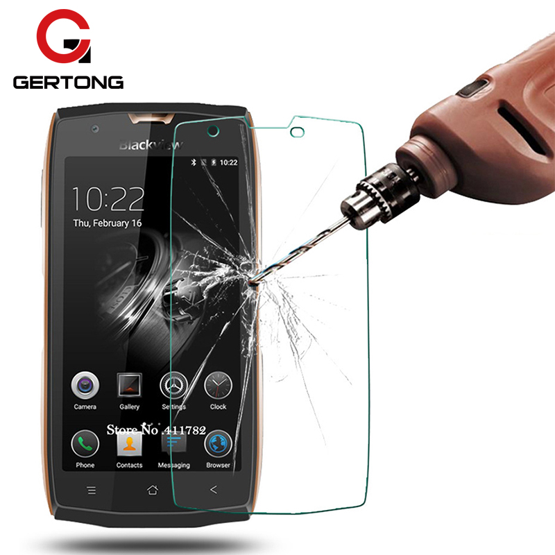 GerTong Screen Protector Tempered Glass Film For <font><b>Blackview</b></font> S8 <font><b>Pro</b></font> BV9000 <font><b>BV8000</b></font> BV7000 BV6000 A7 P2 Lite Screen Protector Glass image
