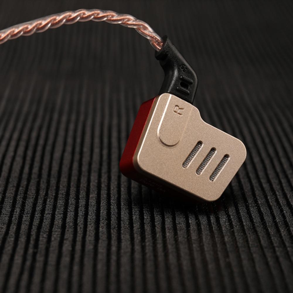 KZ BA10 écouteurs intra-auriculaires filaires écouteurs antibruit écouteurs intra-auriculaires avec Microphone 5 blindés équilibrés