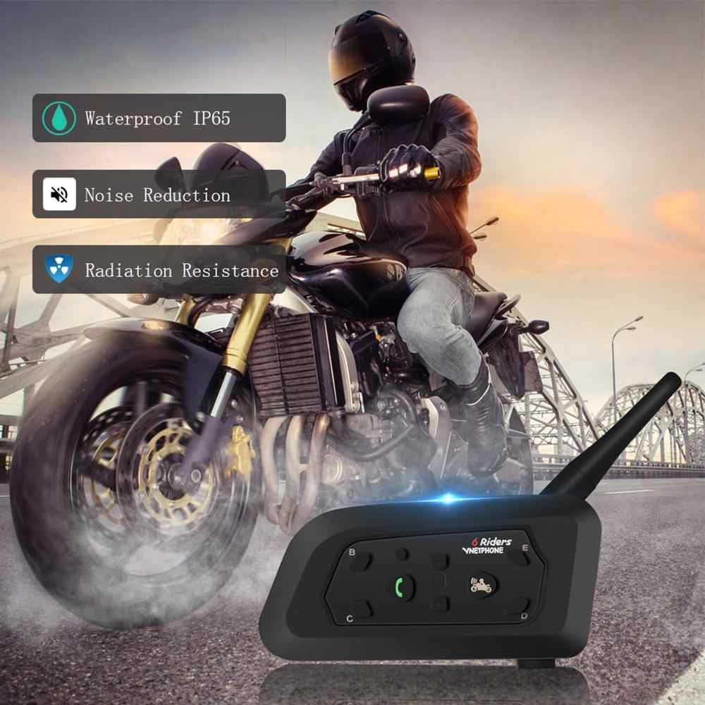 Casque Moto talkie-walkie 1200 M Duplex équitation talkie-walkie V6Pro 1200 M pour casque Moto interphone casque