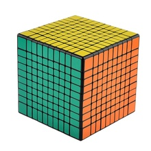 102mm 10x10x10 Magic Cube Competition Twist Puzzle Cubes Kids Toys Educational Toy