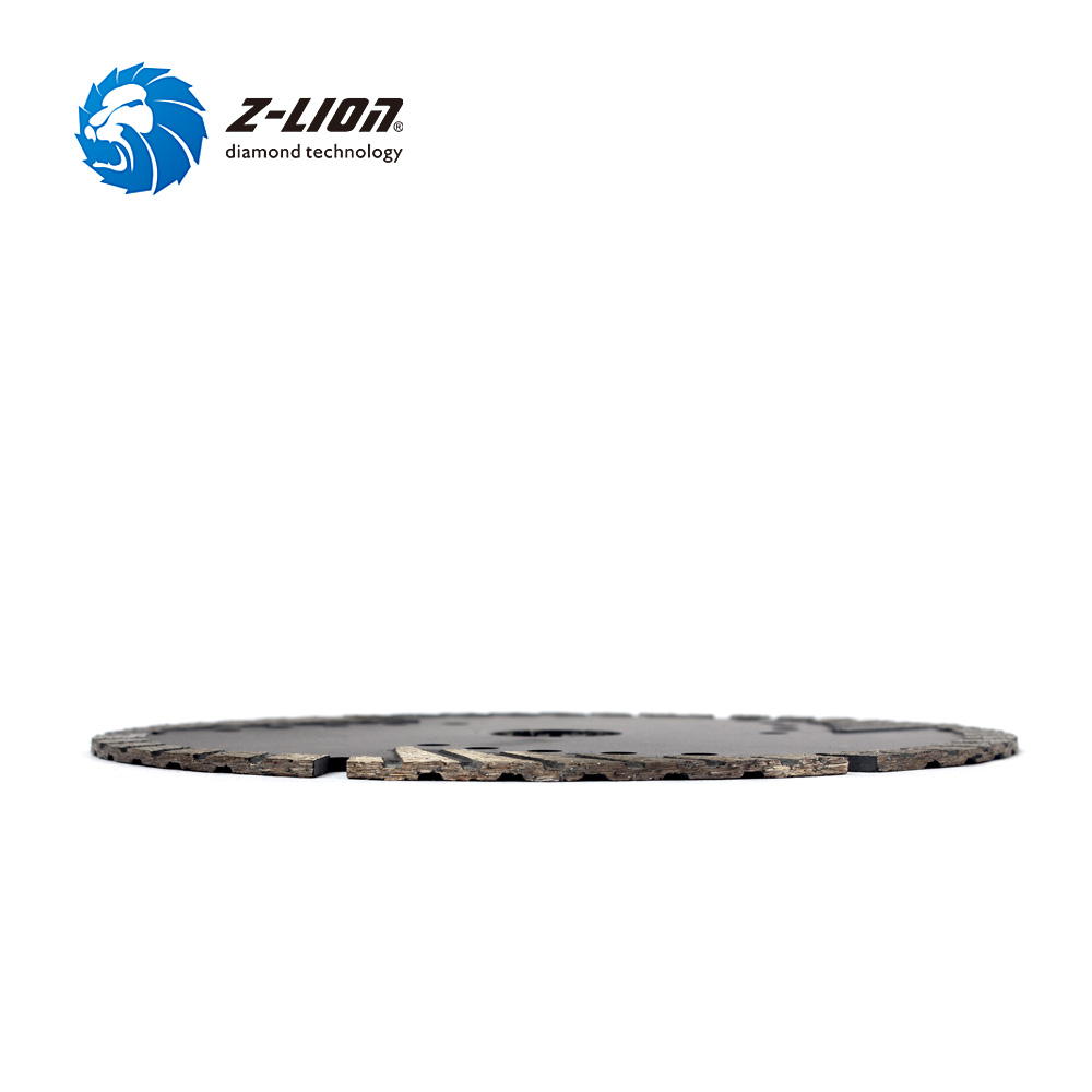 "Image 2 - Z LION 6"" 150mm Diamond Saw Blade With Slant Protection Teeth for Stone Granite Marble Concrete Diamond Cutting Disc-in Saw Blades from Tools"