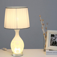 The bedroom lamp Table Lamps glass lamp decoration simple modern high end fashion creative personality relief lamp LU807124