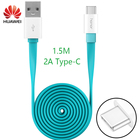 Huawei Original Cable USB Type C Type-C Fast Quick Charger 1.5M 2A Honor 8 9 V9 P9 Plus Note 8 Charge Cable for Samsung Xiaomi