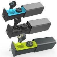 TWS Mini True Wireless Bluetooth Earbuds Twins In Ear Stereo Headset Earphone BK