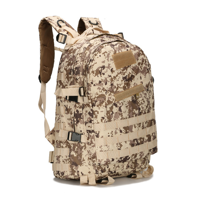 Outdoor Tactical Backpack 45L Large Capacity Molle Army Military Assault Bags Camouflage Trekking Hunting Camping Hiking Bag 4