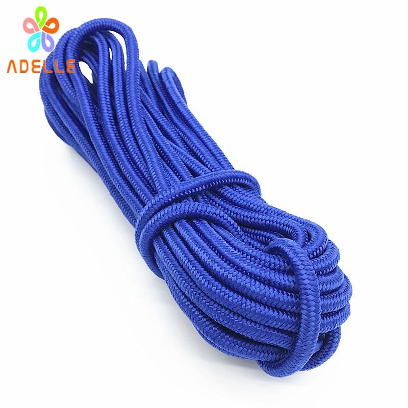 10 M cuerda de polipropileno 6 mm negro X mm PP tela x bootskiste Colour pl/ástico Poli cuerda trenzada