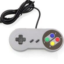 FORNORM USB denetleyicisi oyun Joystick Gamepad denetleyicisi için Nintendo SNES oyun pad için Windows PC MAC bilgisayar