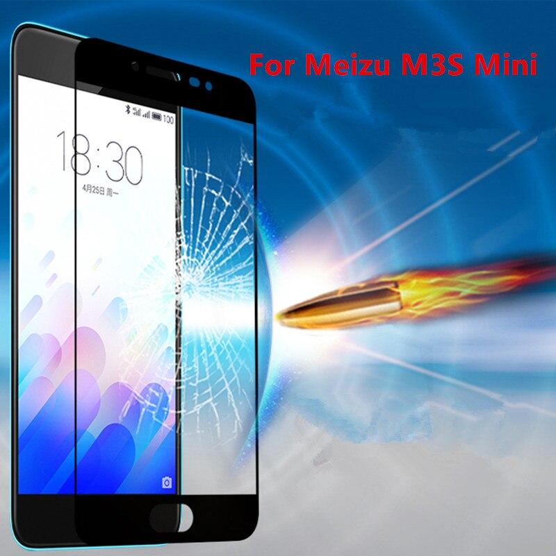 Xinchentech Full Coverage For Meizu M3s/m3s Mini Tempered Glass Film 9h Ultrathin Premium Screen Protector For M3 S 5.0inch Phone Screen Protectors