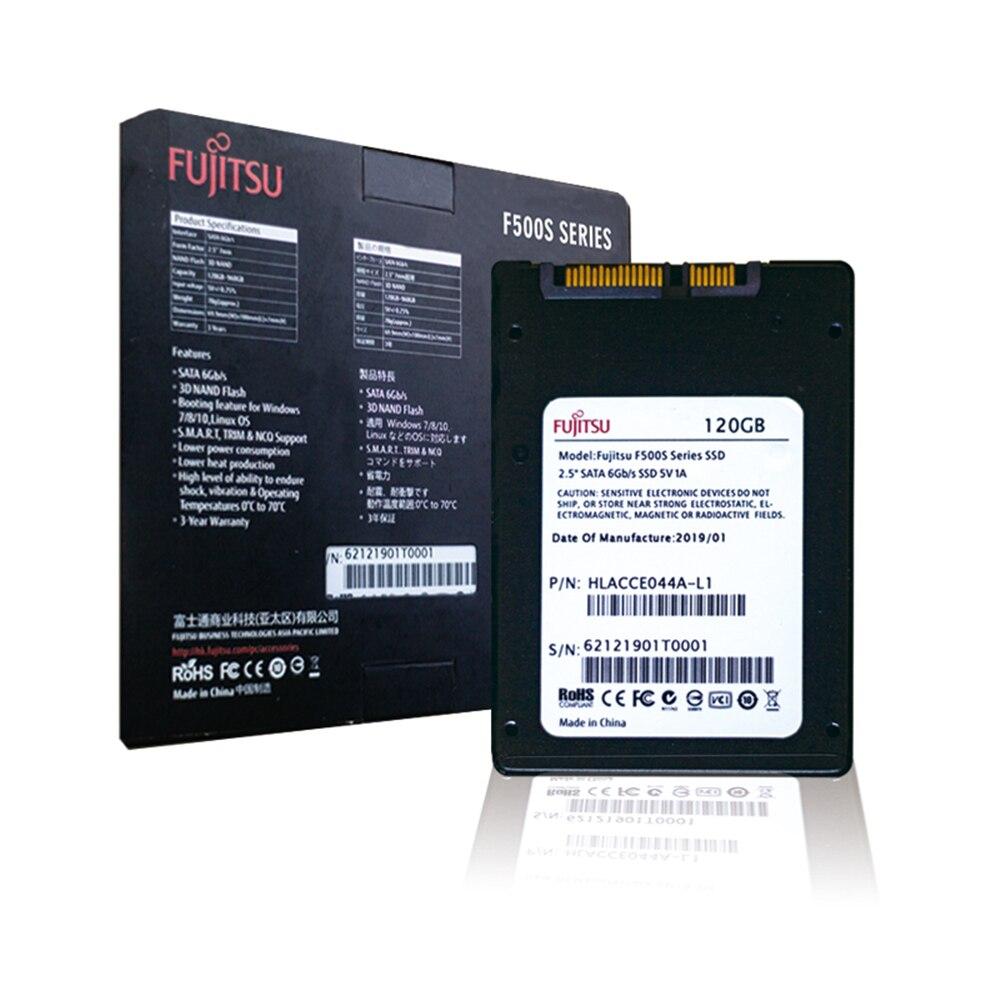 FUJITSU ssd 240 gb 2.5inch 120 gb 480GB SATA 6Gb/s TLC Read/Write Speed 500MB/s 3year warranty Solid State Drives for PC laptop 2