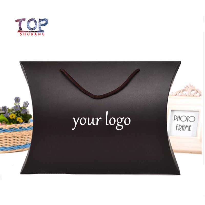 Customizable Logo Black/Gold Box Paper Box Usable Hair Bundle Packing Boxes Gift Packaging Product