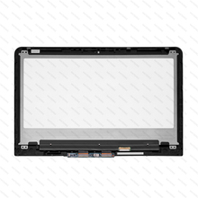 LCD Touch Screen Digitizer With Bezel +Control Board For HP Pavilion X360 13-U157cl 13-u103ng 13-u162TU 13-U102NR 13-U165NR original for hp pavilion x360 13 a010dx 13 3 inch touch screen digitizer sensor replacement parts free shipping