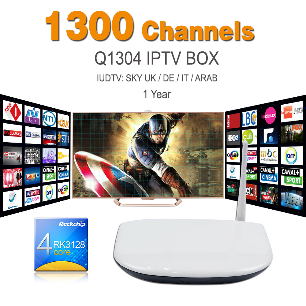 Ott Tv Boc Android Tv Box Q1304 Set Top Box With One Year