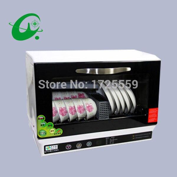 Automatic Dishwasher, 6sets Bowls More Than 30pcs Chicken Dishwasher, Min Dish Washing Machine, Disinfect Dishwashers