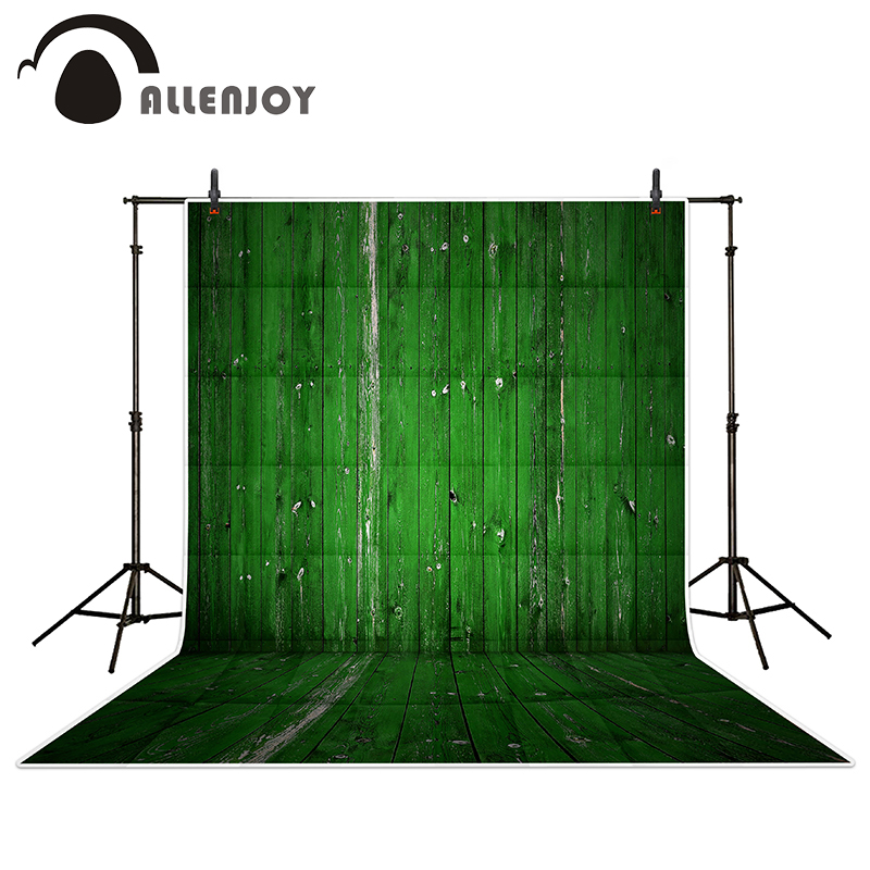 Allenjoy photography backdrops Green paint on wooden background wood brick wall backgrounds for photo studio аптека здоровья по болотову