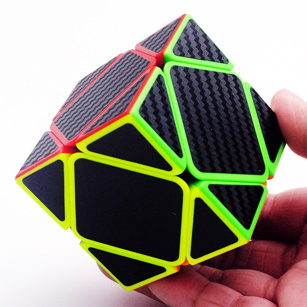 5 pièces/ensemble Megico Cubos de ZCUBE 2*2 3*3 sur 2x2x2 3x3x3 vitesse biais Puzzle Cube Megaminx Triangle professionnel Cubes magiques pour garçon - 4