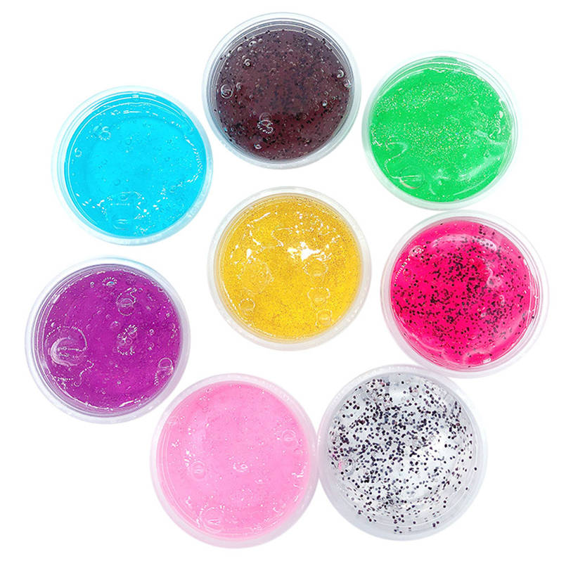 Dashing Childrens Toy Adult Decompression Artifact 60ml Color Dream Crystal Mud Mixing Cloud Slime Putty Scented Stress Kids Clay Toy20 Top Watermelons Modeling Clay
