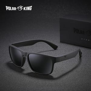 35072a191a97 POLAR KING Polarized Sunglasses Square Driving Sun Glasses
