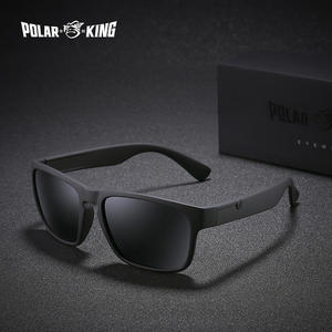 POLARKING Brand Polarized Sunglasses For Men Plastic Oculos de sol Men s  Fashion Square Driving Eyewear Travel Sun Glasses 3f7351ba8d