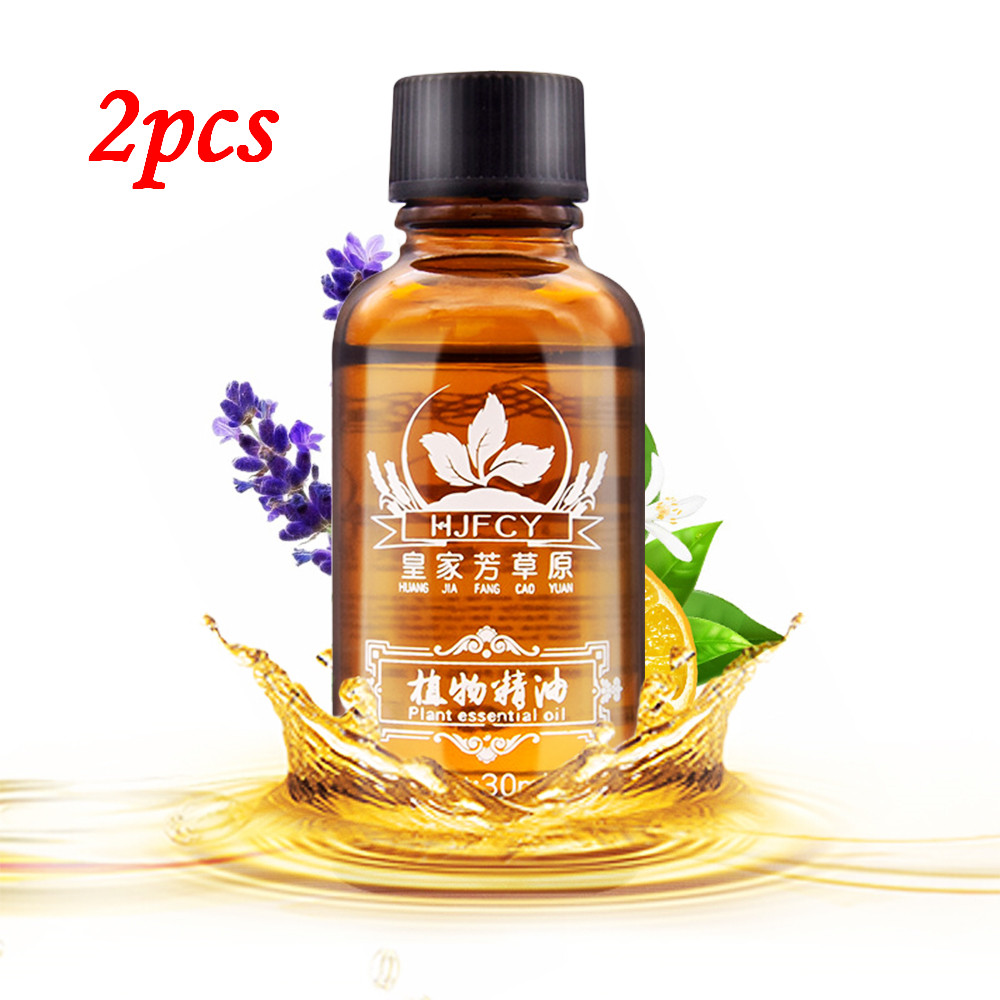 Sincere 2pcs 30ml Natural Plant Essential Oil Soothing Fatigue Detox Anti-aging Relax Body Reduce Anxiety Lavender Essential Oil Tslm1 Packing Of Nominated Brand Essential Oil