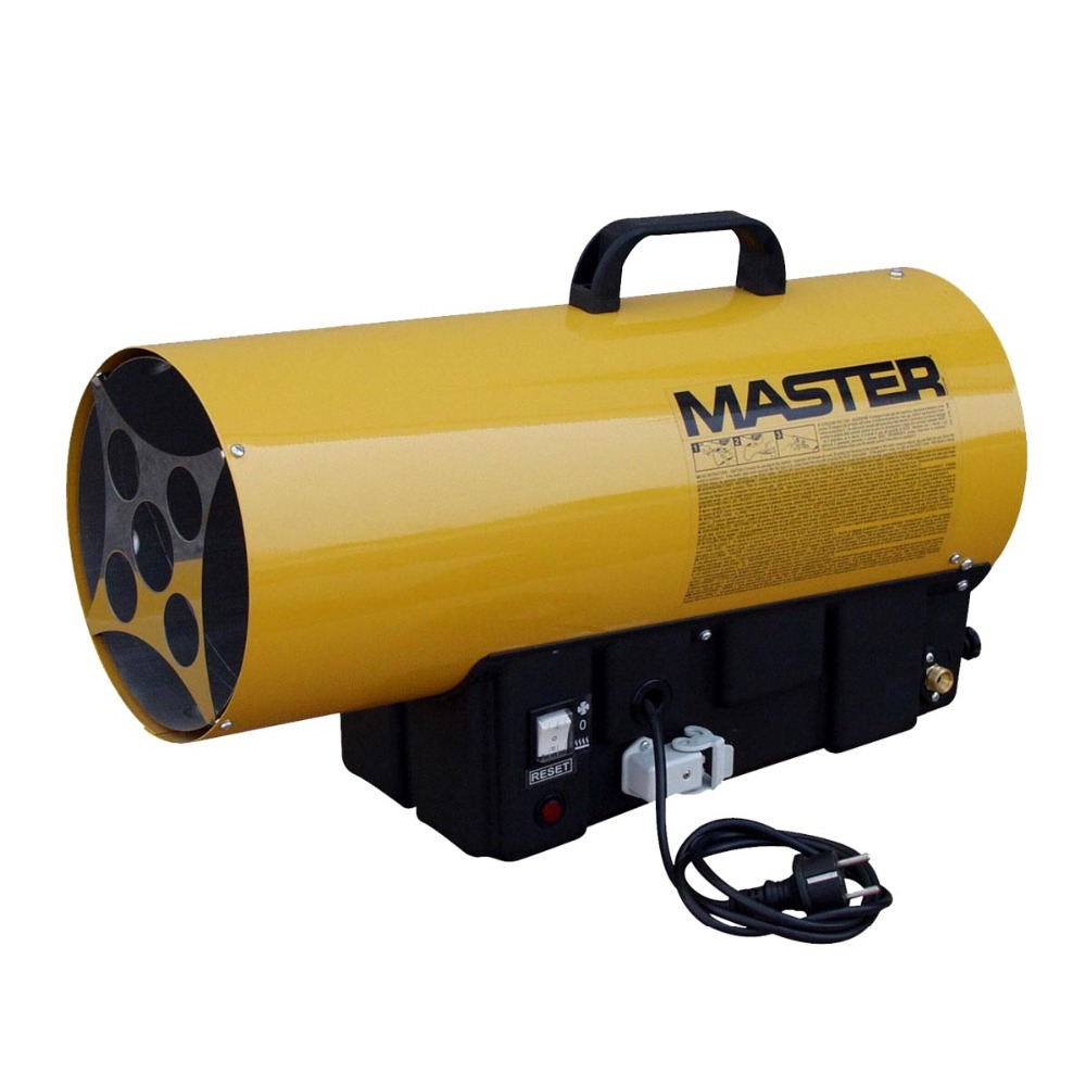 53kw eletronic ignition Master gas industrial heater, LPG hot air heater with available for connecting temperature controller