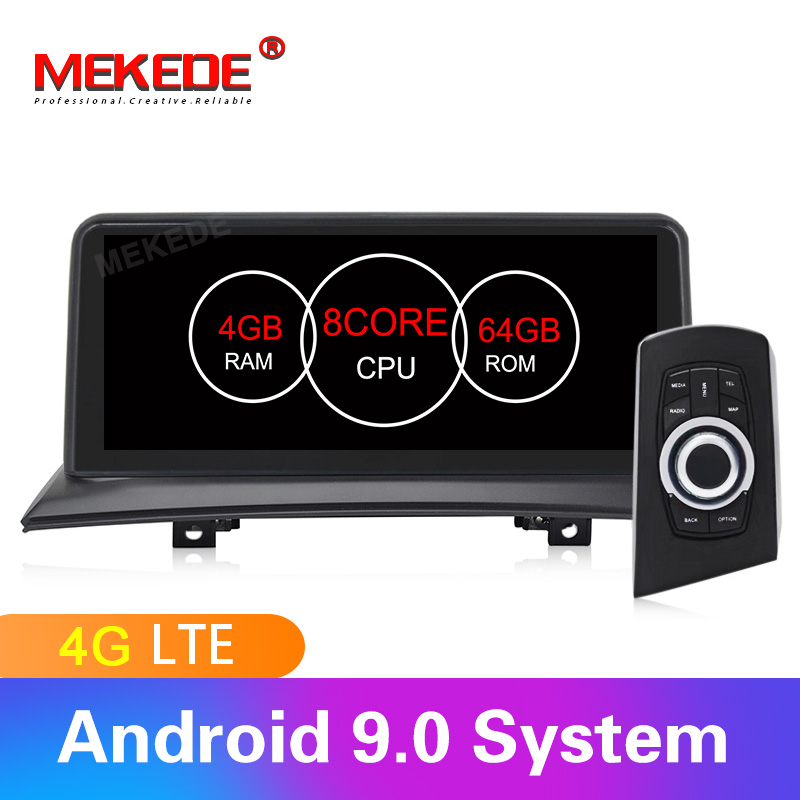 4G LTE android9.0 8 núcleos 4 GB + 64 GB gravador de som Do Carro Jogador de navegação GPS para BMW X3 e83 2004-2010 Original do carro sem tela