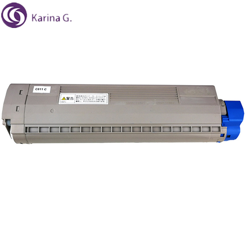 1PCS Compatible for OKI C811 Toner Cartridge Okidata  MC863 MC883 C841 MC843 etc.