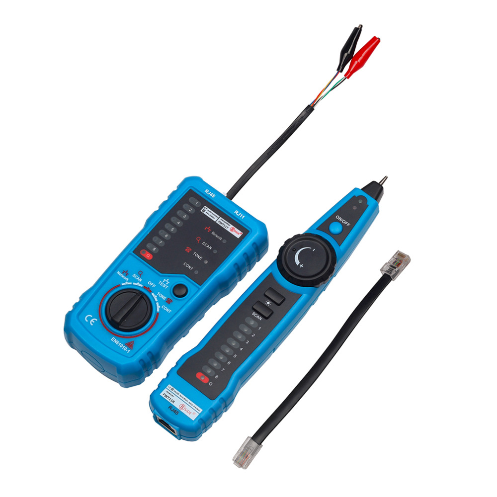Rj11 Rj45 Cat5 Cat6 Telephone Wire Tracker Tracer Toner Ethernet Lan Telecom Wiring Diagram Network Cable Tester Detector Line Finder In Networking Tools From Computer Office On