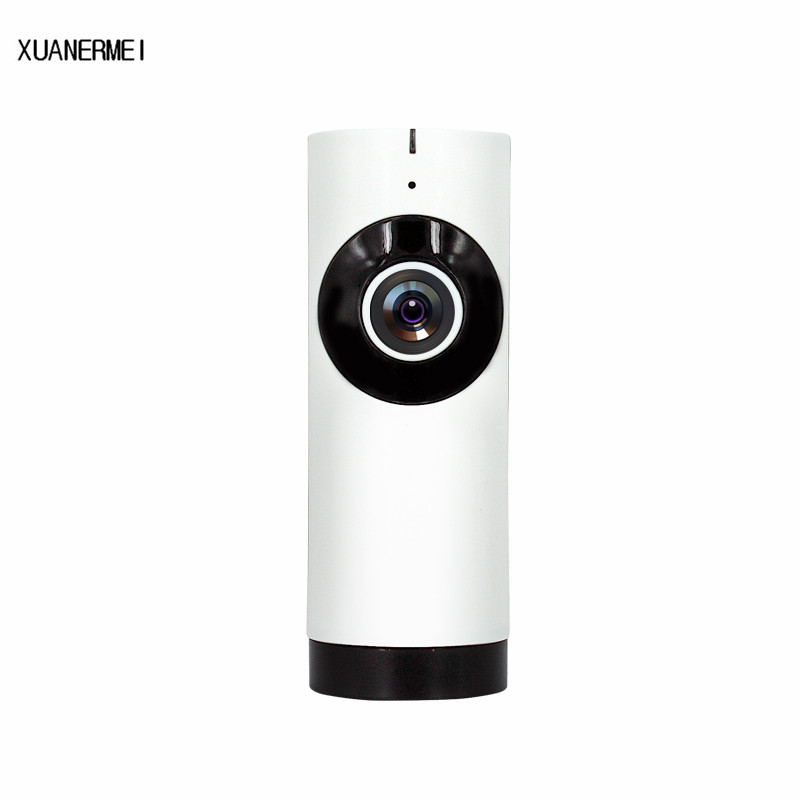 Xuamermei WIFI Wireless IP Cameras720P HD 360Eyes Panorama EC2 P2P Cloud Two Way Audio with IR Leds Fisheye baby monitor